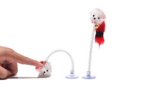 Öntapadós játék toll és egér macskáknak