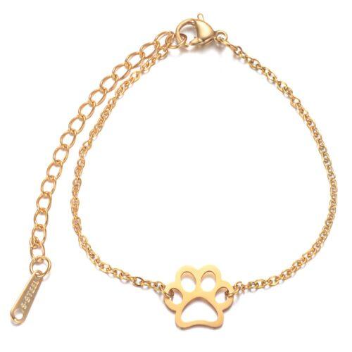 Mancs medálos karkötő - arany